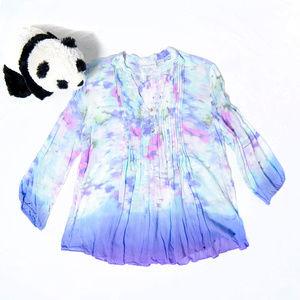 Pastel Soft Surroundings tie dye tunic